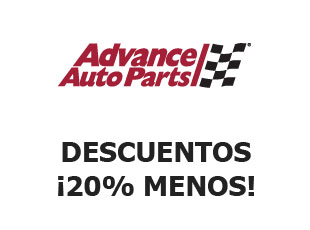 Código promocional 20% Advance Auto Parts