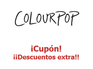 Código promocional Colour Pop hasta -50%