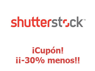 Cupones Shutter Stock 20% descuento