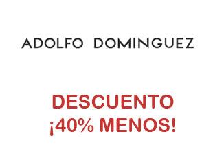 cf32589be811f Cupón descuento 40% menos Adolfo Dominguez