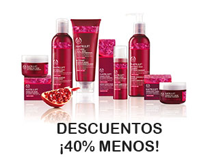 Código promocional 40% The Body Shop